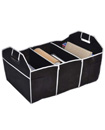 2 in 1 Heavy Duty Collapsible Car Boot Organizer Foldable Shopping Tidy Storage