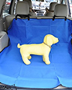 Waterproof Car Rear Seat Cover Boot Liner Mat Protector Floor Trunk Dog (Blue)