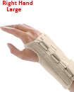 Carpal Tunnel Support Adjustable Brace Splint Arthritis Right Hand L