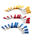 Assorted Electrical Wire Terminals Insulated Crimp