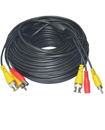 20 Meter BNC CCTV Camera Cable Video Phono Mic Pow