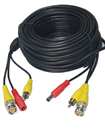 30 Meter BNC CCTV Camera Cable Video Phono Mic Pow