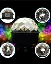 RGB Disco DJ Stage Light Club Party LED Crystal Ba