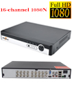 16 Channel 1080N 5 in 1 DVR XVR 3520A 4GB RAM 16M FLASH, 4x 2816 25FPS Play Back 12 FPS VGA Port Mobile Software