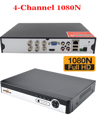 4 Channel 1080N 5 in 1 DVR XVR 3520dv200 2GB RAM 16M FLASH, 2816 25FPS Play Back FPS HDMI Port Mobile Software