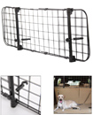 Universal Dog Guard Car Headrest Travel Mesh Grill Pet Safety Adjustable Barrier Fence