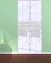 Magnetic Door Curtain Mesh Triped Gauze Self-Propelled Stripe Mosquito Screen