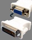 DVI-I (24+5) Male to VGA 15Pins Female Converter A
