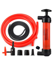 Hand Syphon Fuel Oil Diesel Petrol Liquid Water Extractor Transfer Pump Tool Kit