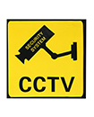 FAKE DUMMY CCTV SECURITY CAMERA STICKERS