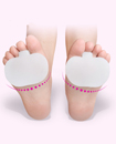 2 x Gel Metatarsal Sore Ball of Foot Pain Cushions Pads Insoles Forefoot Support