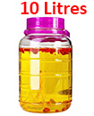 10 Litre Large Glass Preserve Food Beverage Juice Airtight Container Jar