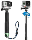 Extendable Pole Hand Grip Monopod Selfie Stick for GoPro Hero 4, 3+, 3, 2, 1 Camera