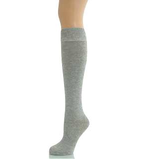 KNEE SOCKS GIRLS LONG SOCKS-GIRLS KNEE LENGTH SOCKS GREY
