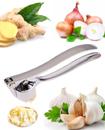 Home Kitchen Mincer Tool Stainless Steel Garlic Press Crusher Squeezer Masher