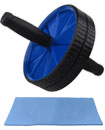 Abdominal (ABS) Roller Wheel Body Exerciser with K