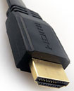 Gold Plated 0.50 Meter Low Profile Flat HDMI V1.4 cable