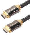 Premium 1 Meter V2.0 HDMI Cable Gold High Speed HDTV Ultra HD 2160p 4K 3D