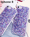 Bling Silicone Glitter ShockProof Case Cover For Apple iPhone 8