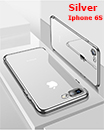 Luxury Case Cover for iPhone 6S Clear Electro Plated Ultra Slim Shockproof Silicone