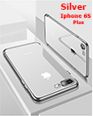 Luxury Case Cover for iPhone 6S Plus Clear Electro Plated Ultra Slim Shockproof Silicone