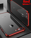 Luxury Case Cover for iPhone 7 Clear Electro Plated Ultra Slim Shockproof Silicone