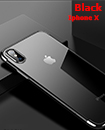 Luxury Case Cover for iPhone X Clear Electro Plated Ultra Slim Shockproof Silicone