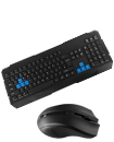 2.4Ghz Wireless Gaming Keyboard And Optical Mouse Set Combo