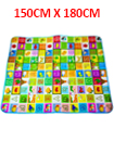 2 SIDE KIDS CRAWLING EDUCATIONAL GAME PLAY MAT SOFT FOAM PICNIC CARPET 150*180CM
