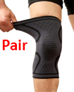 Pair Orthopaedic Heating Magnetic Knee Support Tourmaline Sprain Arthritis Large