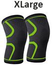 pair orthopaedic heating magnetic knee support tourmaline sprain arthritis XL
