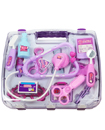 Pink Childrens Kids Role Play Doctor Nurses Toy Set Medical Kit