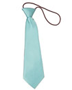 New Satin Elastic Neck Tie For Kids