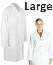 Lab Coat Hygiene Food Industry warehouse Laboratory Doctors Medical coat White Large Size