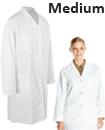 Lab Coat Hygiene Food Industry warehouse Laboratory Doctors Medical coat White medium size