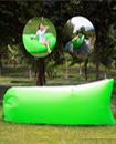 Lazy Lounger Inflatable Air Bed Sofa Lay Sack Hangout Camping Beach Bean