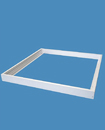 Surface Mount Frame Kit 600x600 mm LED Panel Light Ceiling Aluminum White Finish
