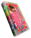 5000 Rainbow Coloured Loom Rubber Band Bracelet S