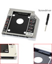 Apple 9.5mm Semi-Aluminum SATA Notebook DVD Hard Drive Caddy Bracket