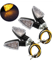 4PCS 12V 15 LED Motorcycle Motorbike Turn Signal Light Turning Indicators