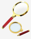 90mm Handheld Jewelry Classic 10x Magnifier Magnifying Glass Loop Loupe Reading