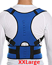 Neoprene Magnetic Posture Corrector Belt Bad Back Brace Shoulder Support Brace