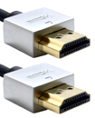 Gold Plated Ultra Slim 50cm HDMI V1.4 (19Pin) Male