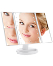 Beautify Makeup Mirror Vanity LED Light Illuminated Tri-Fold Dimmable