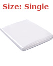 Single Size Bed Mattress Bag Heavy Duty Dust Protector Storage Cover