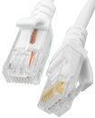 2 Meter CAT5E Ethernet Network RJ45 Patch Cable Wh