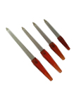 Professional Washable 4Pcs Double Sided Manicure Nail Cuticle Edge File Set