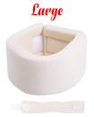 Large Soft Foam Neck Collar Support Brace Unisex Cervical Fracture Healing Aid