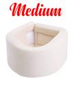 Medium Soft Foam Neck Collar Support Brace Unisex Cervical Fracture Healing Aid