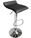 Leather Bar Stool Gas Lift Barstools Breakfast Kit